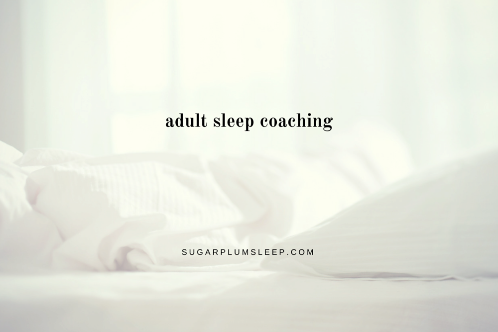 adult sleep coaching