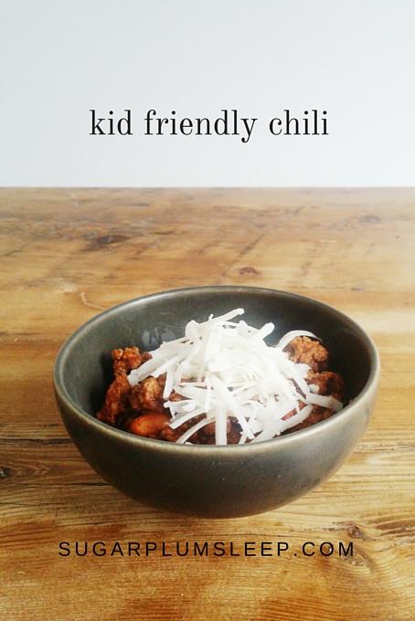 kid friendly chili