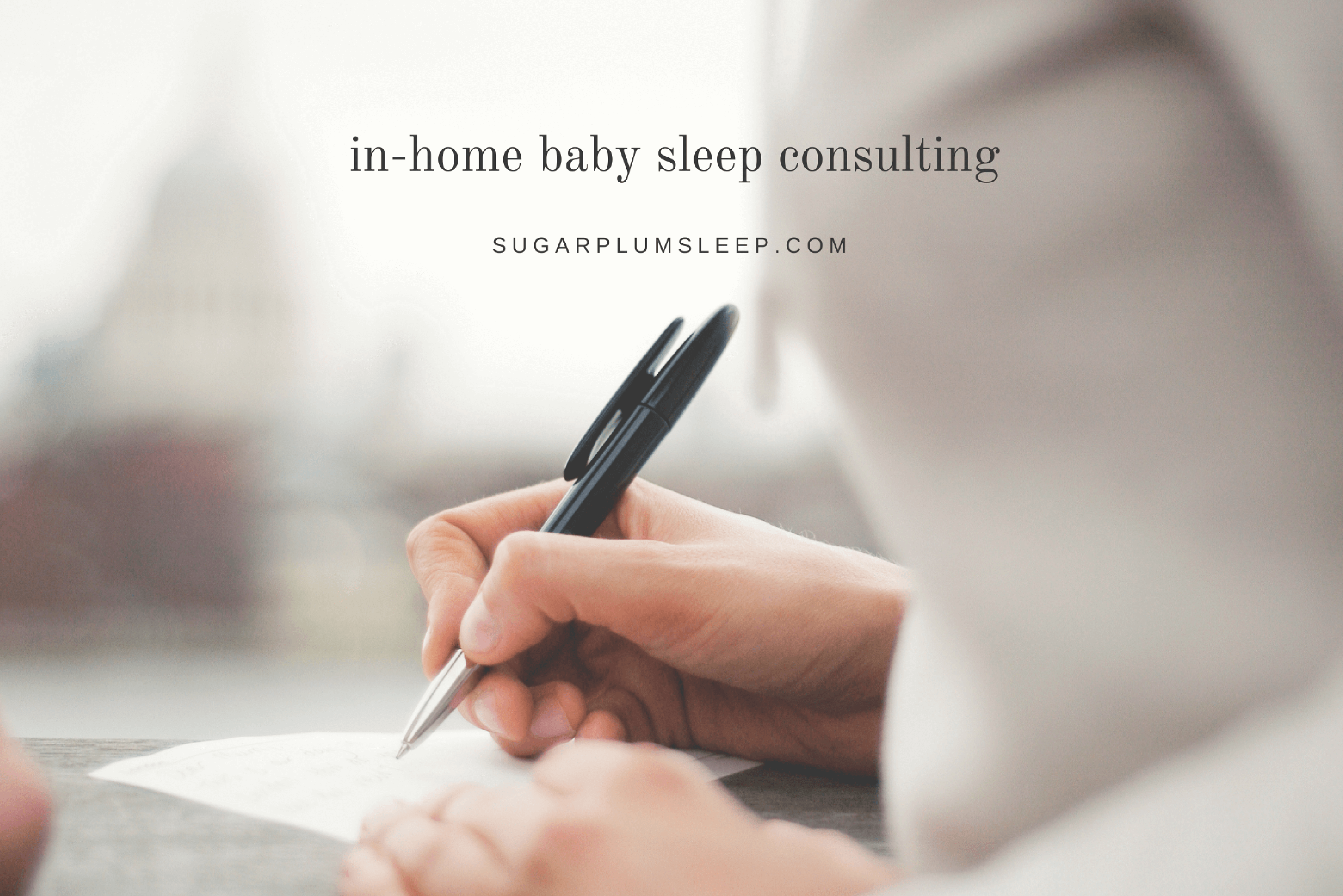 baby sleep consulting