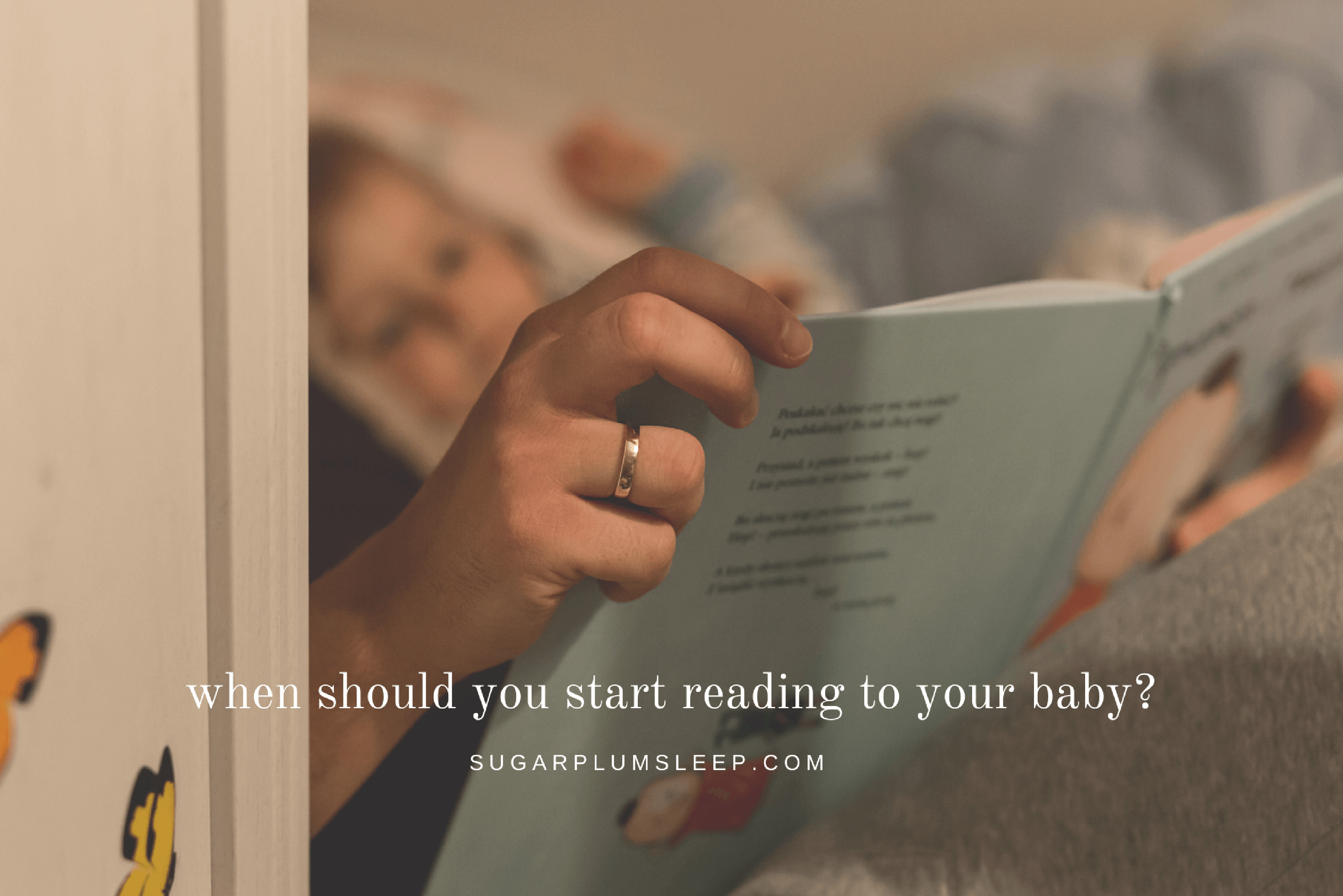 When should you start reading to your baby